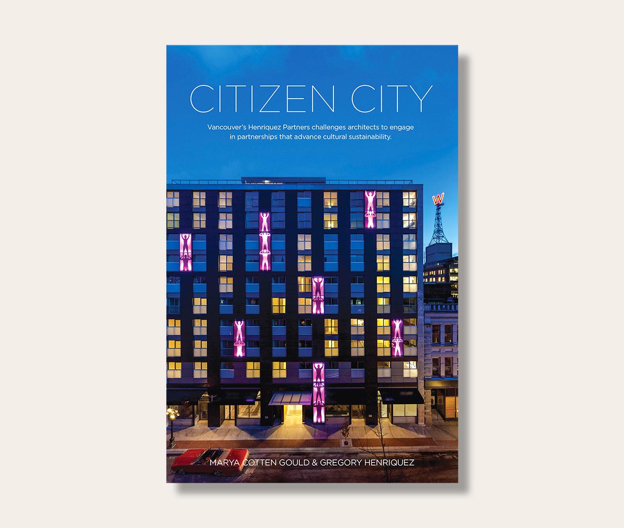 Citizen City book cover.