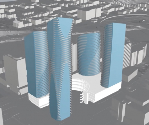 Parametric design image for 5th and Macleod in Calgary.