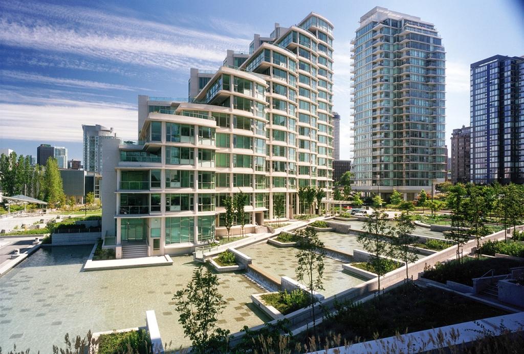 View of Bayshore Development.
