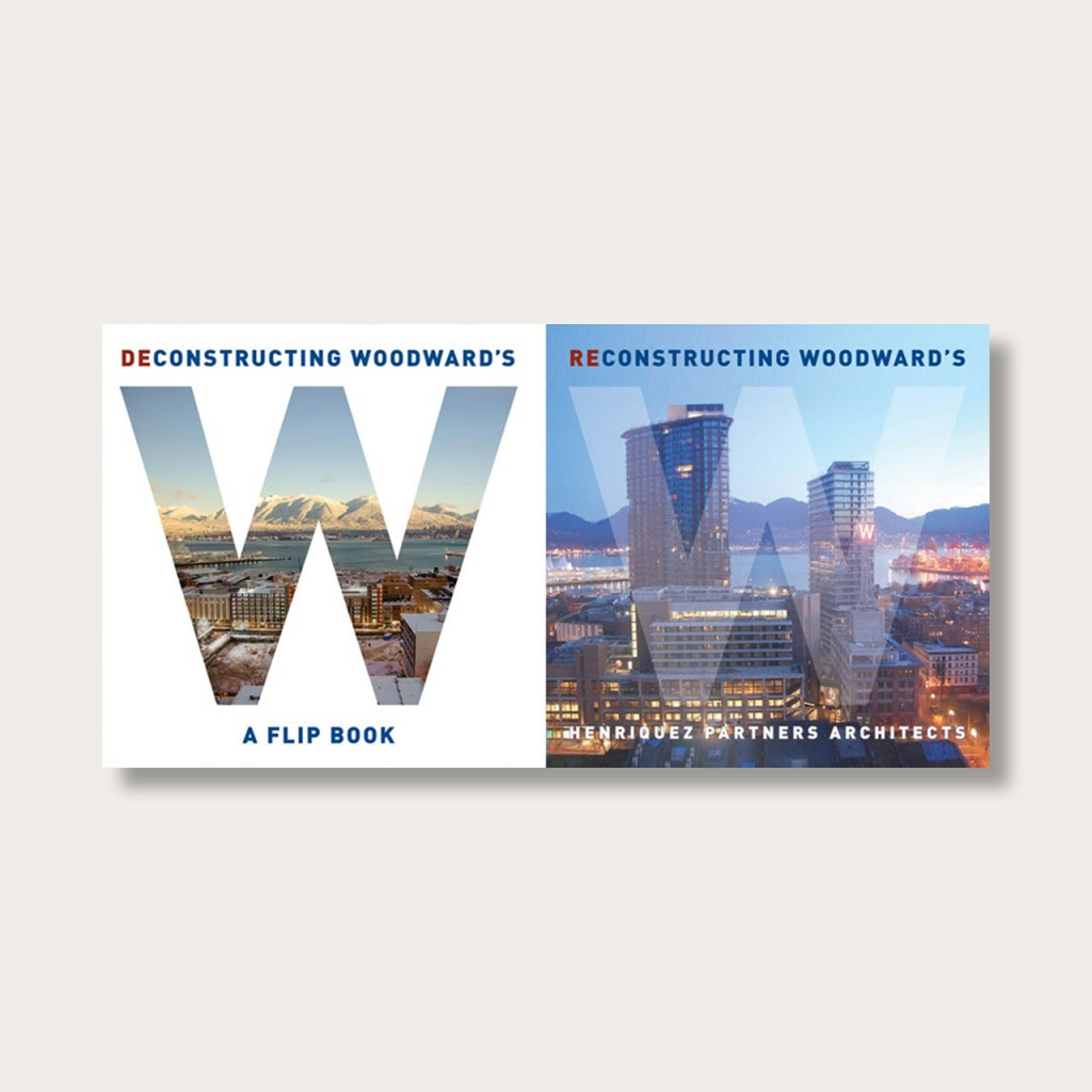 Deconstructing/Reconstructing Woodward's book cover.