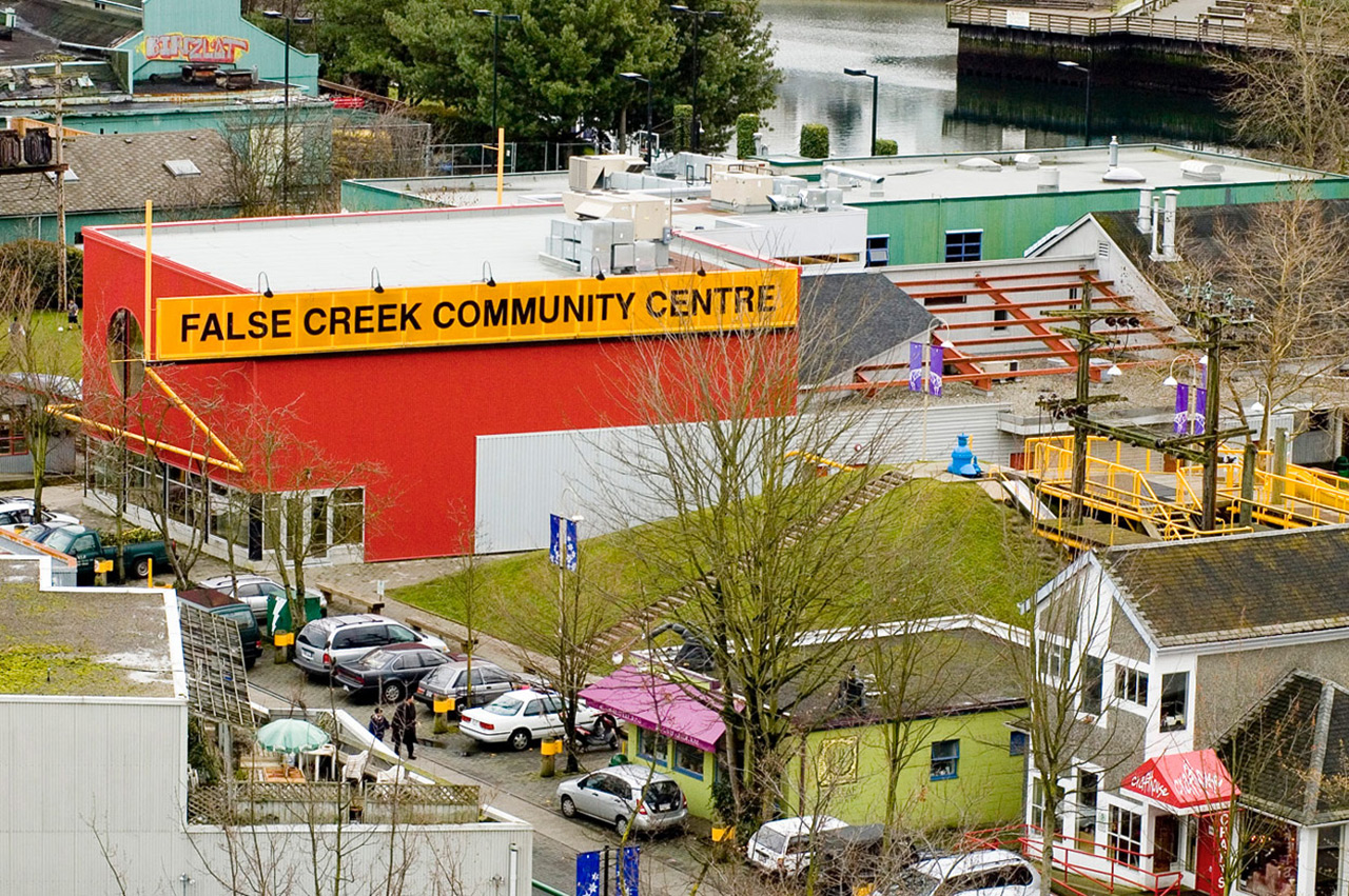 View of False Creek Community Centre.