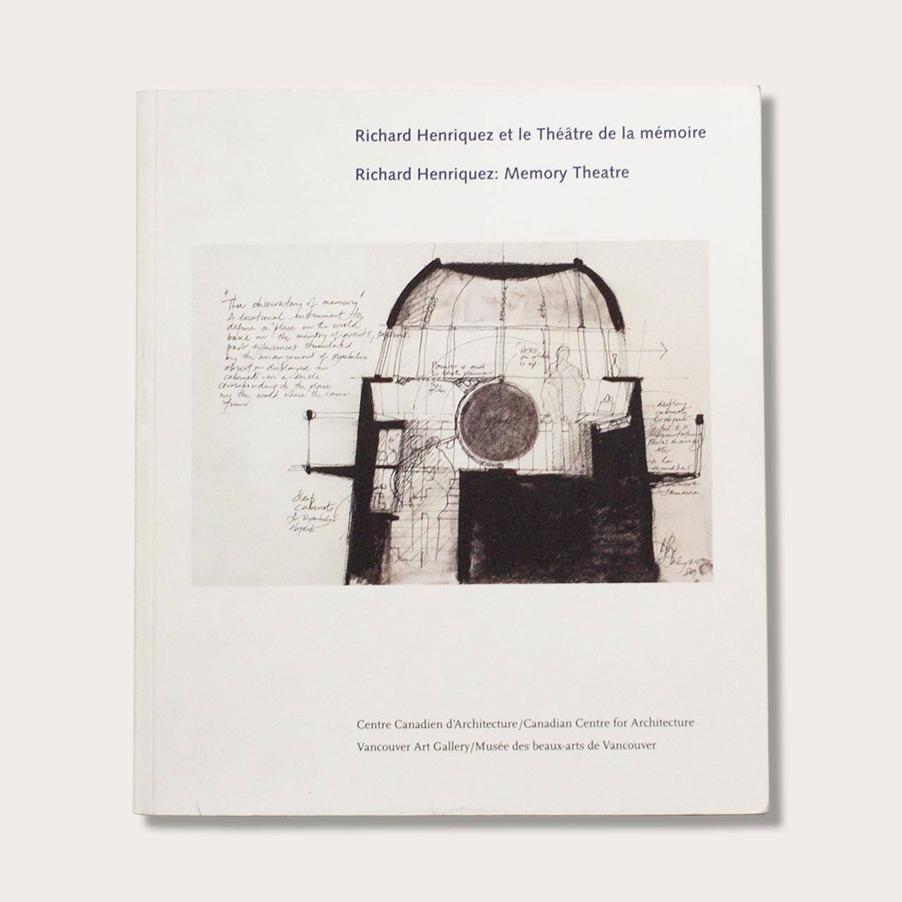 Richard Henriquez: Memory Theatre book cover.