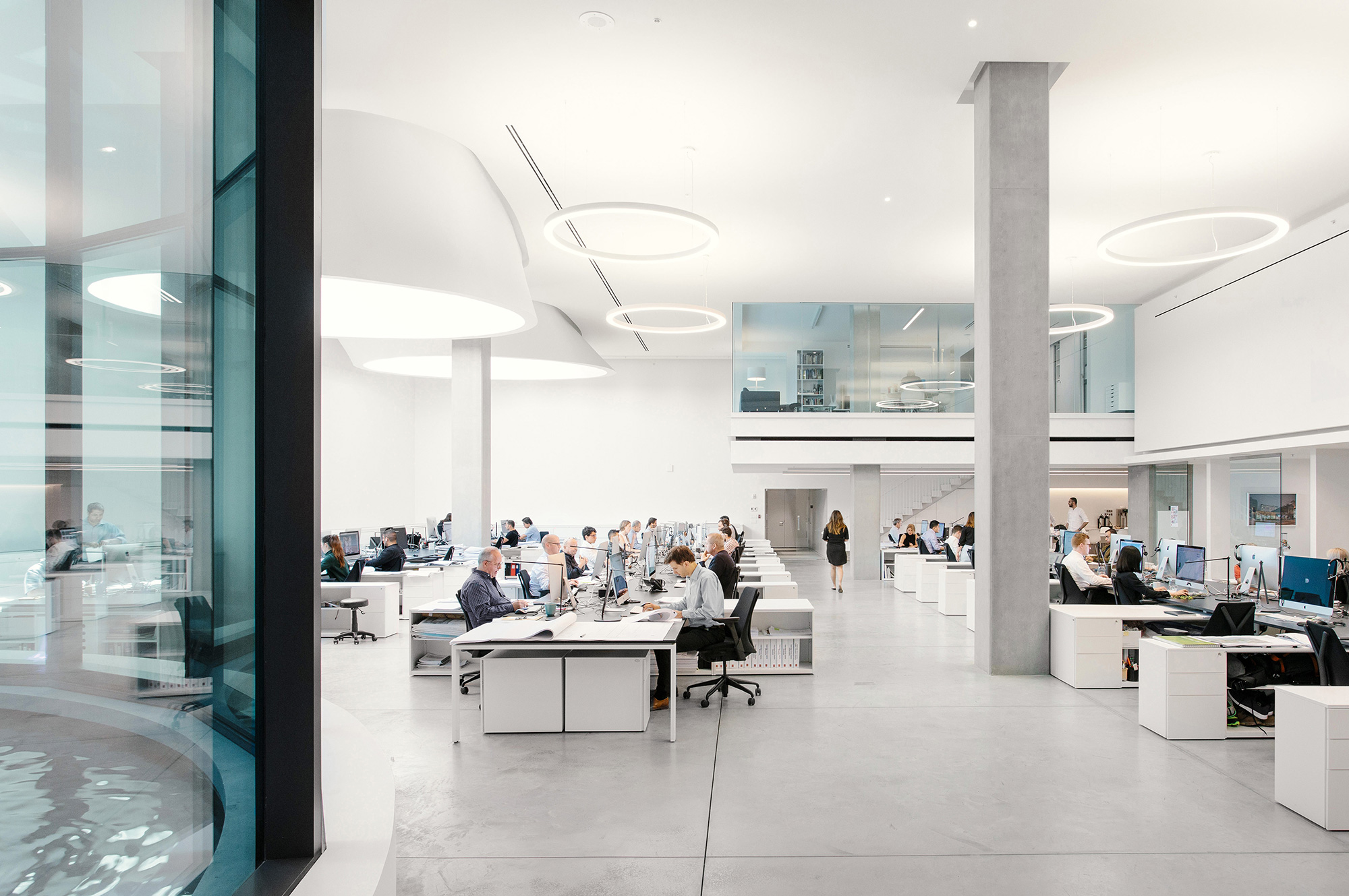 Interior view of Henriquez Studio.