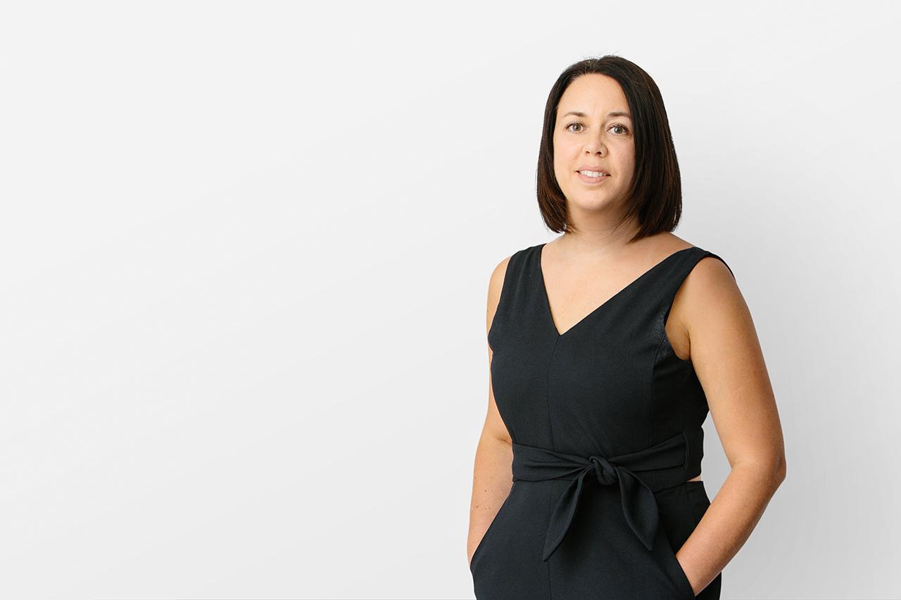 Portrait of Henriquez team member, Patricia Tewfik, Principal.