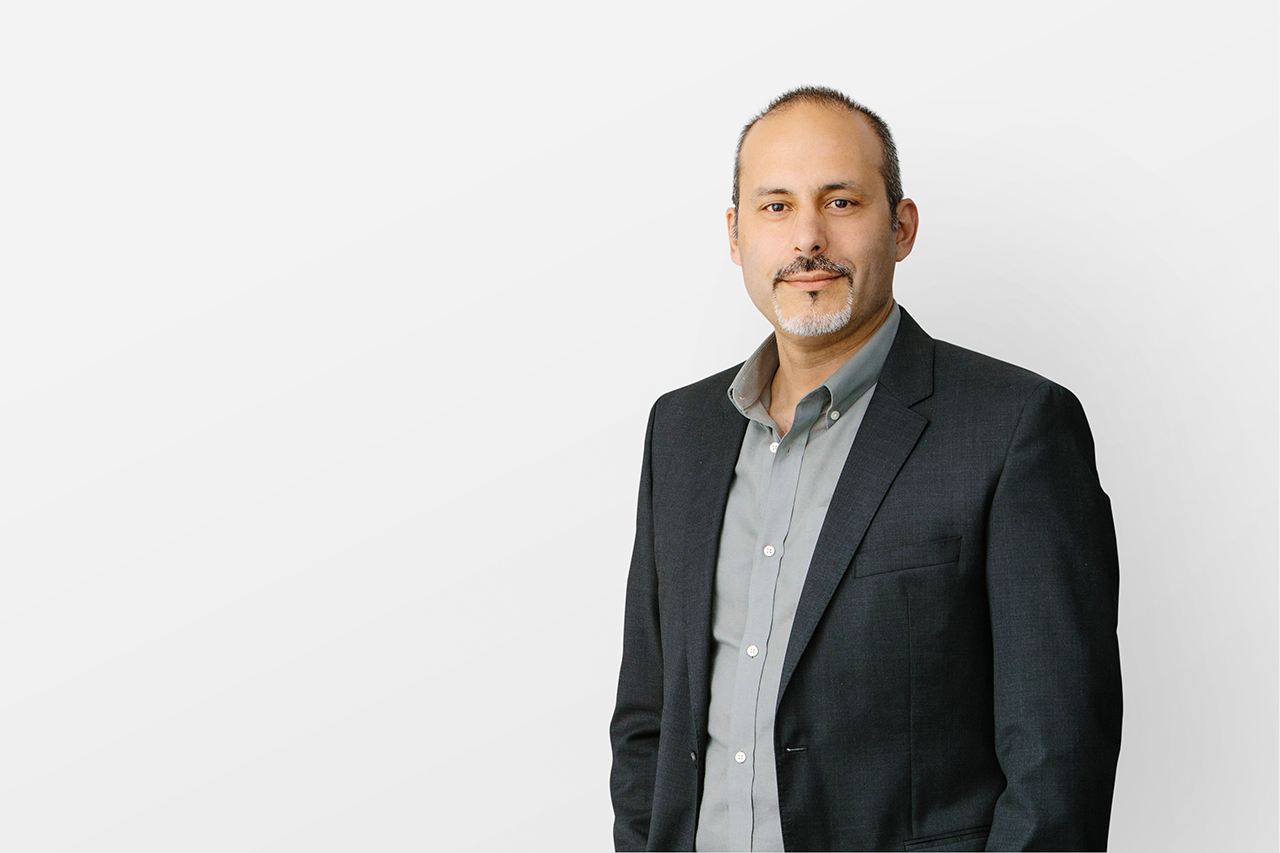 Portrait of Henriquez team member, Rui Nunes, Principal.