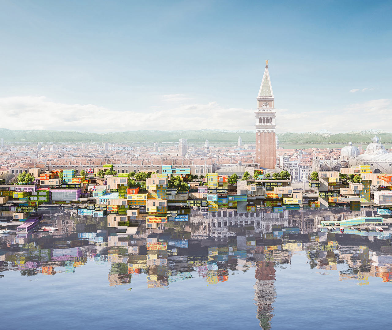 GHETTO island – Piazza San Marco